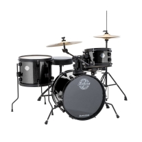 Ludwig LC178X Questlove Pocket Kit Drum Set, Black Sparkle