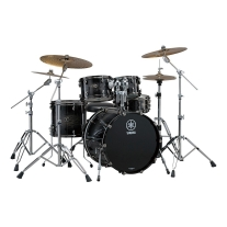 Yamaha Live Custom 4-Piece Shell Pack Black Shadow Sunburst