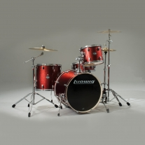 Ludwig LCF50P025 Element 5-Piece Drumset in Wine Red Sparkle