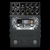 Two Notes Le Bass 2-Channel Tube Bass Preamp