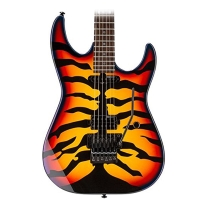 ESP LTD GL200SBT George Lynch Signature Electric Guitar, Sunburst Tiger