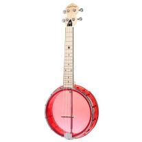 Gold Tone Little Gem Banjo Ukulele in Red