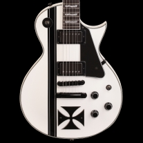 ESP Ltd Iron Cross James Hetfield Signature Model Snow White
