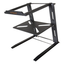 Roland Folding Aluminum Laptop Stand with Shelf
