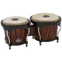 Latin Percussion City Bongos Carved Mango/Mahogany Wood