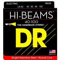 DR Strings Hi-Beam - Stainless Steel Round Core 40-100