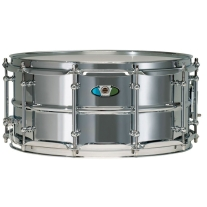 Ludwig LW5514SL 4x14 Supralite Steel Snare Drum