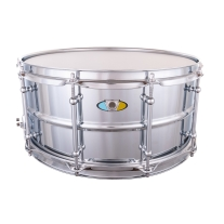 "Ludwig Supralite Snare Drum 14x6.5"""