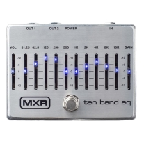 MXR M108S 10-Band Graphic EQ