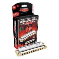 Hohner M2011BXL-C Marine Band Thunderbird Diatonic Harmonica, Key of LC