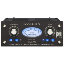 Avalon M5 Pure Class A Microphone Preamplifier - Black