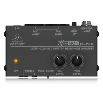 Behringer MA400 MICROMON Ultra-Compact Monitor Headphone Amplifier