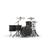 MAPEX MA528SFBZW Mars Series Crossover 5-Piece Drum Shell Pack, Zebrawood