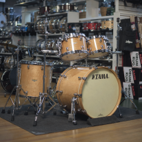 Tama Starclassic Maple Exotix 4-Piece Shell Kit Shell In Figured Gloss Maple