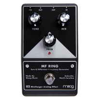 Moog Ring Minifooger Ring Modulator Pedal