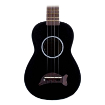 Kala Makala MKS Soprano Ukulele in Black Finish