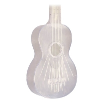Kala MK-SWT/Clear Makala Waterman Composite Soprano Ukulele in Clear Color