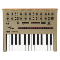 Korg Monologue Analog Synthesizer - Gold
