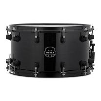 "MAPEX MPML4800BMB MPX Series Maple Snare Drum 14x8"", Transparent Black Finish"