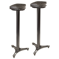 Ultimate Support MS100B Studio Monitor Stands (Pair)