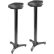Ultimate Support MS100 Monitor Stand Pair Angling