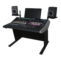 Sterling Modular Two Bay Multi-Station Console for Avid Artist Series Components