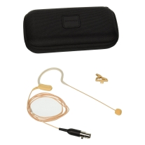 Shure MX153 Earset Condenser Microphone Tan w/ TA4F Connector
