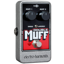 Electro Harmonix Nano Double Muff Fuzz and Overdrive Pedal