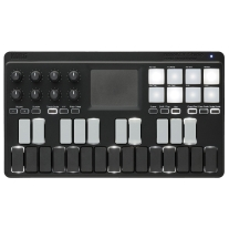 Korg nanoKEY Studio 25-Note Backlit Velocity Sensitive Keyboard