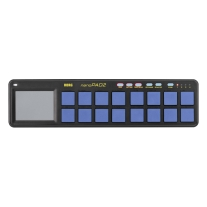 Korg nanoPAD2 Limited Edition Slim-Line USB MIDI Controller (Blue/Yellow)