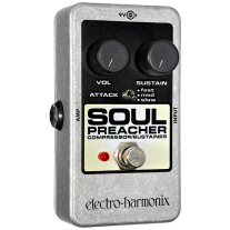 Electro Harmonix Nano Soul Preacher Compressor Sustainer Pedal