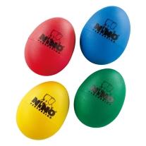 Meinl Nino 4 Piece Plastic Egg Shaker Set