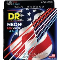 DR Strings NUSAA-12 Coated Phosphor Bronze Acoustic Guitar Strings