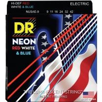 DR Strings NUSAE-9 Coated Nickel Electric Guitar Strings