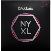 D'Addario NYXL45100 Long Scale Bass Set Regular Light 45-100