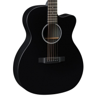 Martin X Series OMCXAE Black Orchestra Model Acoustic Electric Guitar