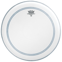 Remo P30112-C2 Coated Powerstroke 3 Drum Head (12-Inch) - Clear Dot on Top