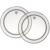 Remo Powerstroke P3 Clear Bass Drumhead, 22""