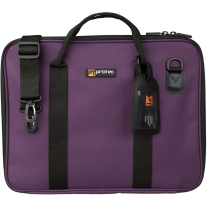 Protec Music Portfolio Bag with Shoulder Strap in Purple