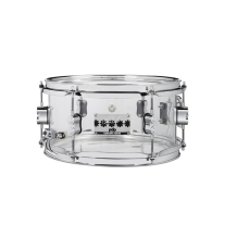PDP PDSN0612SSCS Chad Smith 6x12 Clear Acrylic Shell Snare Drum