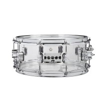 PDP PDSN0614SSCS Chad Smith 6x14 Clear Acrylic Shell Snare Drum