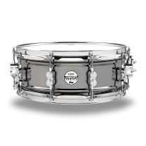 "Pacific By DW 5.5x14"" Black Nickel Over Steel Snare"