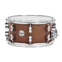 Pacific PDSX0713BMBM 7x13 18 Ply Bubinga and Maple Snare Drum