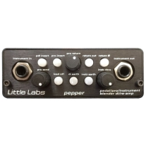 Little Labs PEPPER Pedal and Instrument Blender Reamp DI