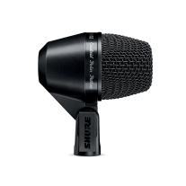 Shure PGA52-XLR Dynamic Kick-Drum Mic with 15' XLR Cable