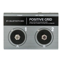 Positive Grid BT2 Bluetooth MIDI Footswtich