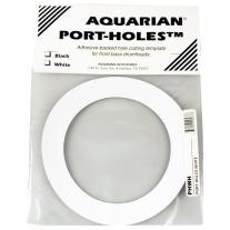 "Aquarian Drumheads PHWH White Port-Holes 5"""