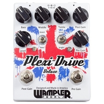 Wampler Plexi-Drive Deluxe Guitar Effects Pedal