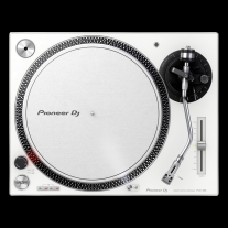 Pioneer DJ PLX-500-W Direct Drive DJ Turntable in White