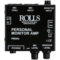 Rolls PM50S Personal Monitor Amplifier System